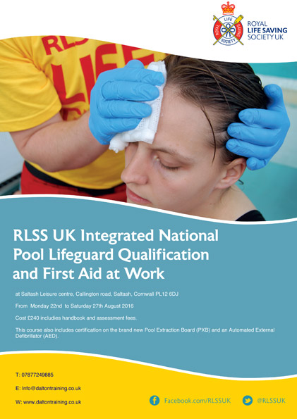 Dalton training courses for the leisure industry - Plymouth life centre swimming pool timetable ...